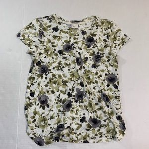 Anthropologie Postmark Floral Shirt Top M